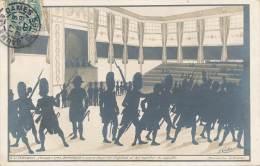 CPA (précurseur) - 28463 -Très Belle Carte Silhouette Histoire Signée J. Coulon - Silhouettes