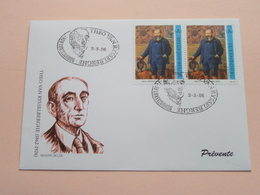 THEO VAN RYSSELBERGHE ( 1862-1926) : Stamp 1000 Luxembourg 1996 FDC P & T 1/1996 ( Zie/voir Foto's Voor Details ) - FDC