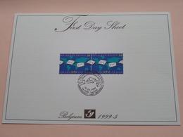 1999 - 5 / First Day Sheet  Gelegenheidsuitgiften - Voeux De Circonstance ( Zie/voir Foto's Voor Details ) ! - FDC