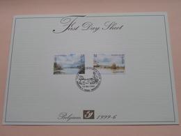 1999 - 6 / First Day Sheet  Gelegenheidsuitgiften - Voeux De Circonstance ( Zie/voir Foto's Voor Details ) ! - FDC