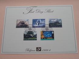 1999 - 4 / First Day Sheet  Gelegenheidsuitgiften - Voeux De Circonstance ( Zie/voir Foto's Voor Details ) ! - FDC