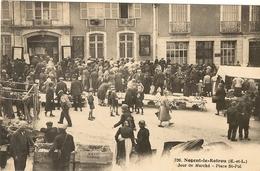 NOGENT-LE-ROTROU - Jour De Marché  - Place St Pol 141 - Nogent Le Rotrou