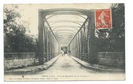 """36/ INDRE.. CIRON. Pont De Romefort, Sur La """"Creuse"""" - France"""