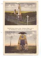F 57130 VERNEVILLE, 1.Weltkrieg, Denkmal Schlesw.-Holst. Artillerie Regiments Nr.9, Kl. Mangel / AF - Metz Campagne
