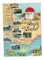 RN 7 LA ROUTE DU SOLEIL - Cartes Géographiques