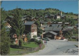 Vercorin, La Place Du Village - Photo: Darbellay - VS Valais