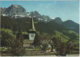 Rougemont (Alpes Vaudoises) L'Eglise Et Le Rübli (Videmanette) - Photoglob - VD Vaud
