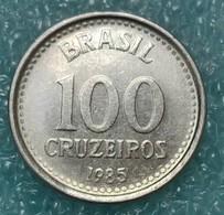 Brazil 100 Cruzeiros, 1985 - Brésil