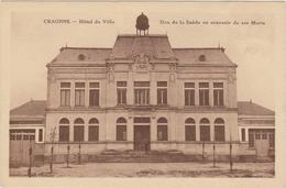 CARTE POSTALE   CRAONNE 02  Hôtel De Ville.Don De La Suède En Souvenir De Ses Morts - Craonne