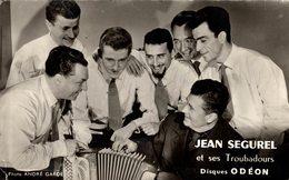 JEAN SEGUREL ET SES TROUBADOURS DEDICACE AU DOS - Music And Musicians