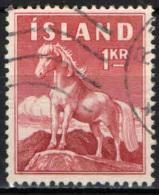ISLANDA - 1960 - PONY D'ISLANDA - NUOVO VALORE - USATO - 1944-... Republik