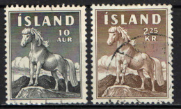 ISLANDA - 1958 - PONY D'ISLANDA - USATI - 1944-... Repubblica