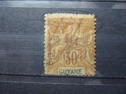 VEND TIMBRE DE GUYANE N° 38 !!! - Französisch-Guayana (1886-1949)