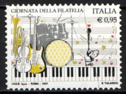 ITALIA - 2017 - GIORNATA DELLA FILATELIA - USATO - 6. 1946-.. Repubblica
