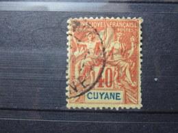 """VEND TIMBRE DE GUYANE N° 39 , """" CUYANE """" !!! - Französisch-Guayana (1886-1949)"""