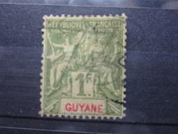 VEND TIMBRE DE GUYANE N° 42 !!! - Französisch-Guayana (1886-1949)