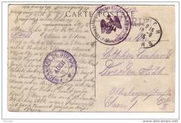 SOLOMIAC : Cachet Prisonniers De Guerre AUCH 1915 ............. 4111 - Storia Postale