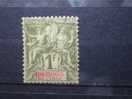 VEND TIMBRE D ' INDE N° 13 , NEUF AVEC CHARNIERE !!! - Indien (1892-1954)