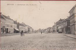Deinze Deynze Rue Du Marche Merktstraat (In Goede Staat) 1908 Tax Taxzegel - Deinze