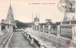 Cambodge . N° 47412 . Pnom Penh . La Cour Du Palais Royal... . Belle Affranchissement - Cambodia