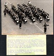 Militaria, Photo Originale 120 X 175, Légion étrangère Centième Anniversaire De Camerone 1963 - Documents