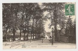 77 Provins, La Rue Sainte Croix Prise Du Boulevard D'Aligre (A2p64) - Provins
