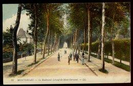 Montereau - Le Boulevard Leboeuf-de-Mont-Germont - Montereau