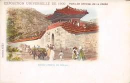 Corée. N° 47731. Seoul. Exposition De 1900 . Drapeau .  Cp Pub . Illustrateur - Korea, South