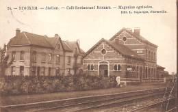 Belgique. N° 47789 . Stockem.station.plie - Arlon