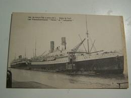 T81   SAINT NAZAIRE   Dans Le Port Les Transatlantiques PEROU ET LAFAYETTE - Saint Nazaire