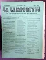 La Lamponette N°19 - Dimanche 9 Octobre 1881 + Supplément Du N°19 - Journaux - Quotidiens