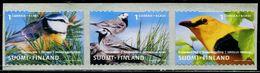 FC0056 Finland 2001 Various Birds 3V MNH - Neufs