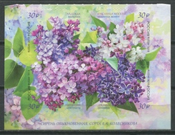 Russia 2018 Rusia / Flowers MNH Flores Blumen Fleurs / Cu9301  41-25 - Vegetales