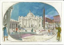 Vaticano. Postal Del Jubileo Año 2000. Basílica De San Pedro. - Vaticano (Ciudad Del)