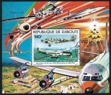 DJIBOUTI 1979 - Bloc Spécial PA 130 Obl.   ..Réf.DIV20142 - Djibouti (1977-...)