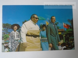 D159909   Kingdom Of Tonga - His Majesty King Tupou IV With Duke Of Kent - Tonga