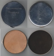 Boite Pneumogéine Renard. Ancienne En Métal Chromé - Attrezzature Mediche E Dentistiche