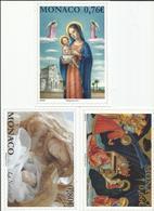 Mónaco. Postales De Navidad Del Servicio Filatélico De Mónaco - Navidad