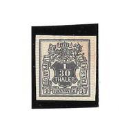 Germania Antichi Stati Hannover 1856-57 1/30 T Nero Nuovo Gommato (*) - Hannover