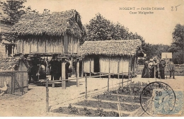 NOGENT : Jardin Colonial Case Malgache - Tres Bon Etat - France
