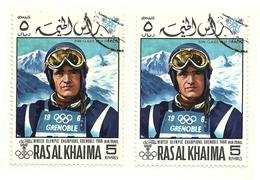 1968 - Ras Al Khaima - Giochi Olimpici Di Grenoble, - Inverno1968: Grenoble
