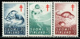 FC0082 Finland 1961 Animal Seal 3V MNH - Finlandia