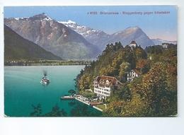 Brienzersee Ringgenberg Gegen Interlaken 4125 Bateau Paquebot Navire 1918 - BE Berne