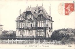 ***  14  ***   DEAUVILLE Villa Galiffet TTB éd ELD - Deauville