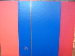 ALBUMS LEUCHTURM 16 PAGES NOIRES NEUF QUALITE ALLEMANDE COUVERTURES BLEUES - Stockbooks