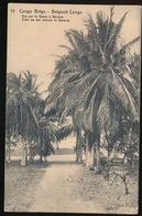 BELGISCH CONGO - ZICHT OP DEN STROOM TE BANANA - 2 SCANS - Autres