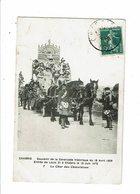 Cpa CHABRIS Souvenir De La Cavalcade Historique18 Avril 1909 Entré De Louis XI à Chabris N°7 Char Des Chatelaines - France