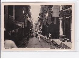CHINE - HONG KONG : Chinese Street Scene (1930 Circa) - Very Good Condition - Chine (Hong Kong)