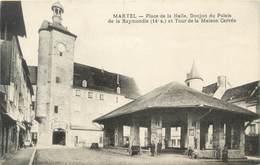 """CPA FRANCE 46 """"Martel, Place De La Halle"""" - Autres Communes"""