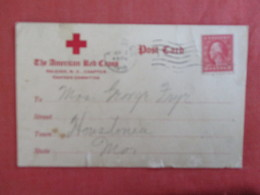 As Is  Border Flaws --------American Red Cross Canteen Committee  North Carolina > Raleigh     Ref 3013 - Raleigh
